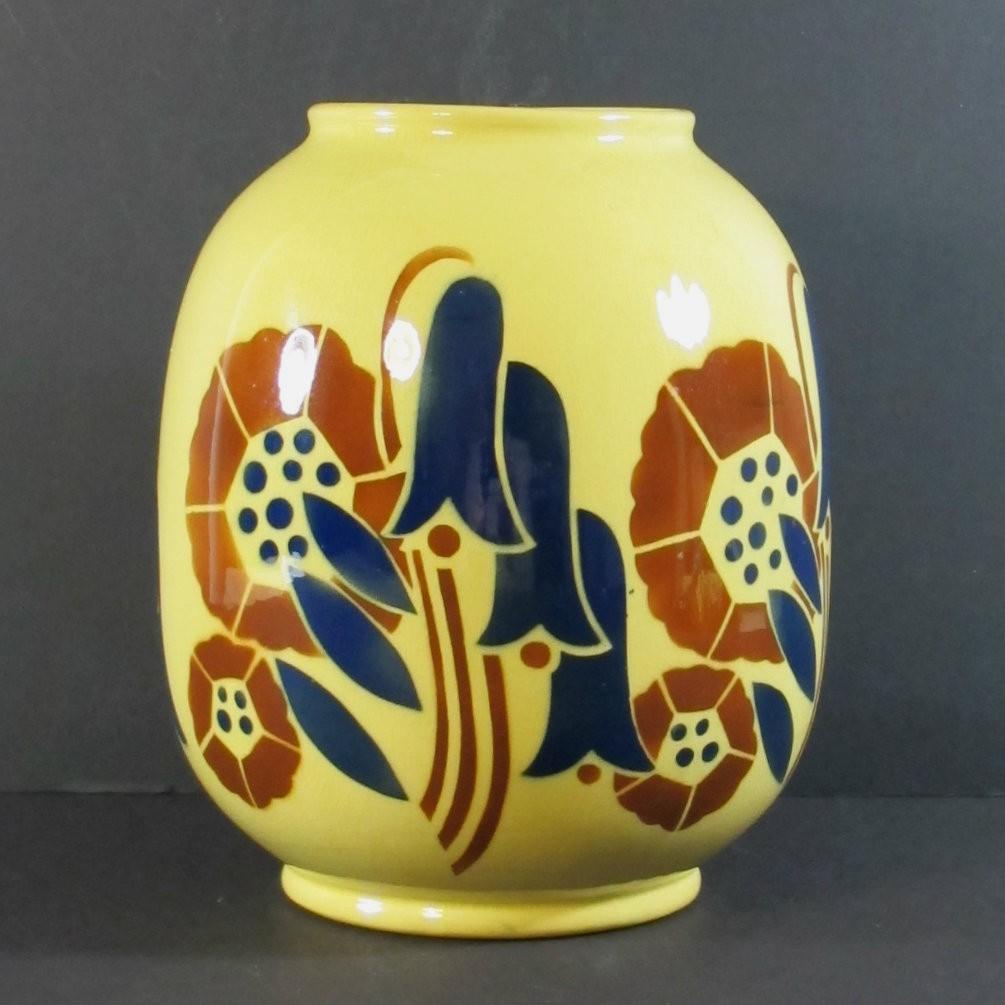Art Deco Vase Lunéville Galeries Lafayette Cornershop Design